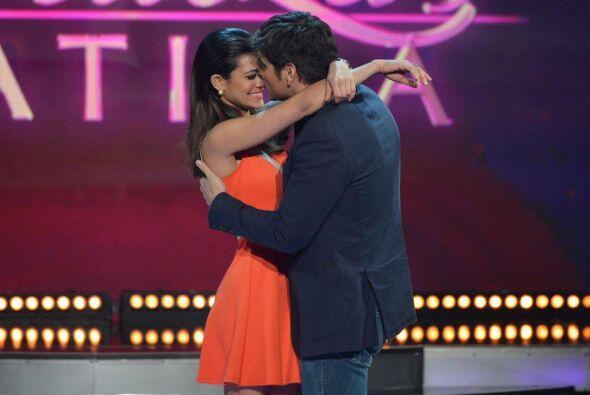 Su talento es actuar y esta noche Daniel Arenas la sorprendió.