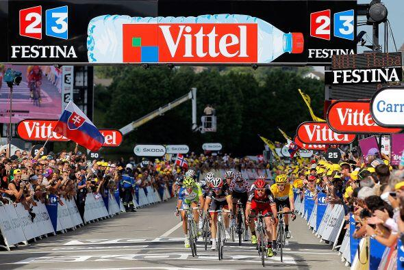 El estadounidense Tejay Van Garderen clasificó cuarto y el francés Sylva...
