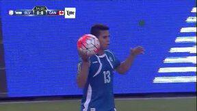 Highlights:Canadá at El Salvador on July 8, 2015