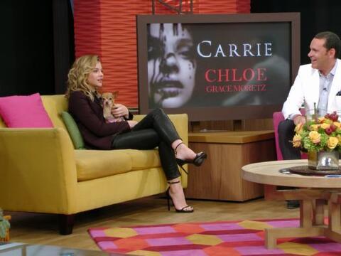Chloë Moretz hizo vibrar a Despierta América con sus nuevos...
