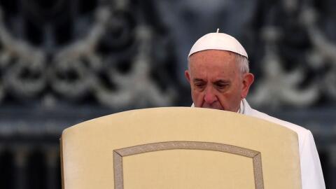 El Papa dijo que muchos católicos llevan una doble vida.