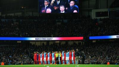 Todos los estadios de Inglaterra sonaron la MArsellesa.