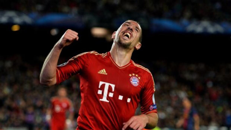 Franck Ribéry fue elegido Mejor Jugador de la UEFA.