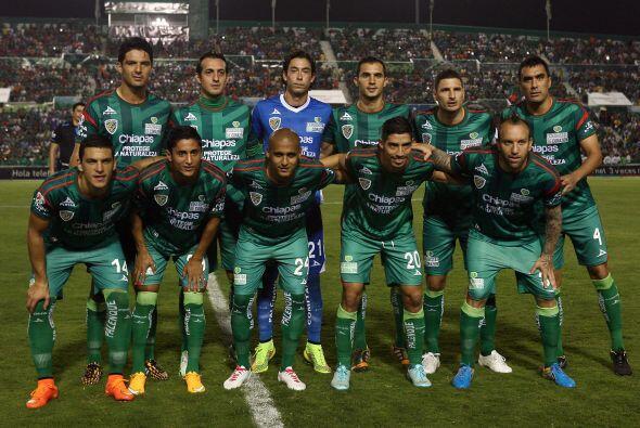 Jaguares de Chiapas se coloca en la décimosegunda posición...