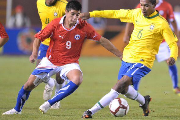 Chile había igualado transitoriamente el marcador por intermedio de Bria...