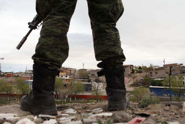 La narcoviolencia ha provocado que en Ciudad Juárez la gente ya ni salga...