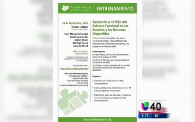 Realizarán conferencia informativa sobre el autismo funcional