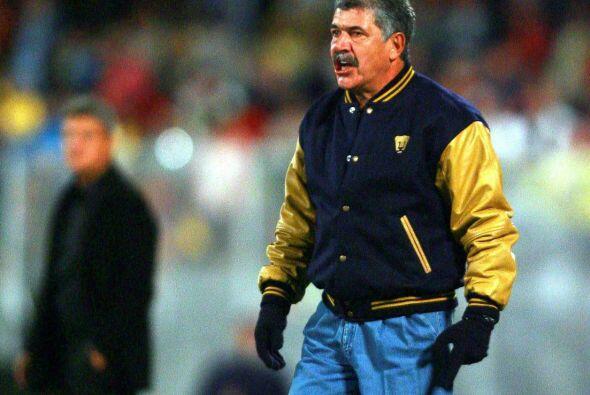 En cuestión de técnicos Ricardo Ferreti es el único entrenador que dirig...