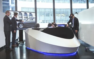 BMW se asocia con HTC para diseñar vehículos con realidad virtual