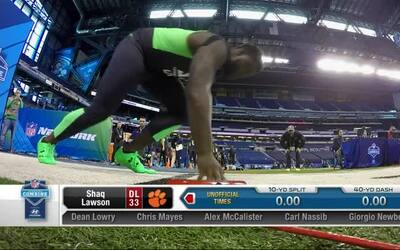 Combine workout: Shaq Lawson (Clemson)