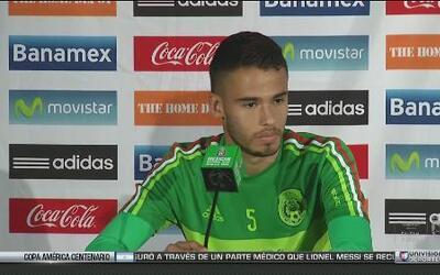 """Diego Reyes: """"No me preocupa mi futuro, ahora sólo quiero ganar la Copa..."""