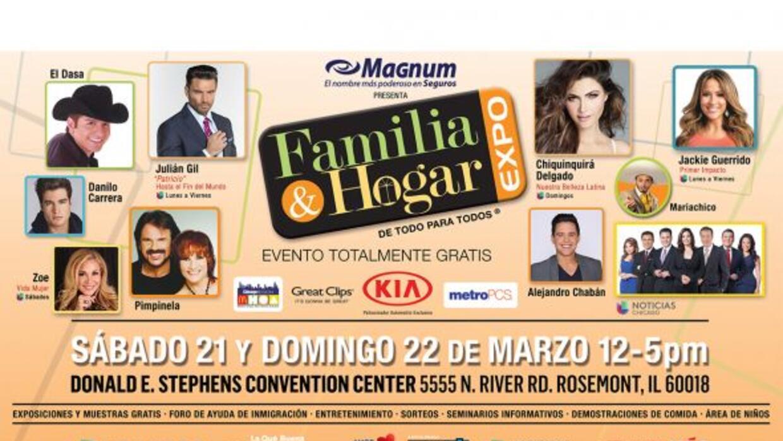 Acompáñanos a Familia y Hogar Expo! Un evento totalmente gratis donde en...
