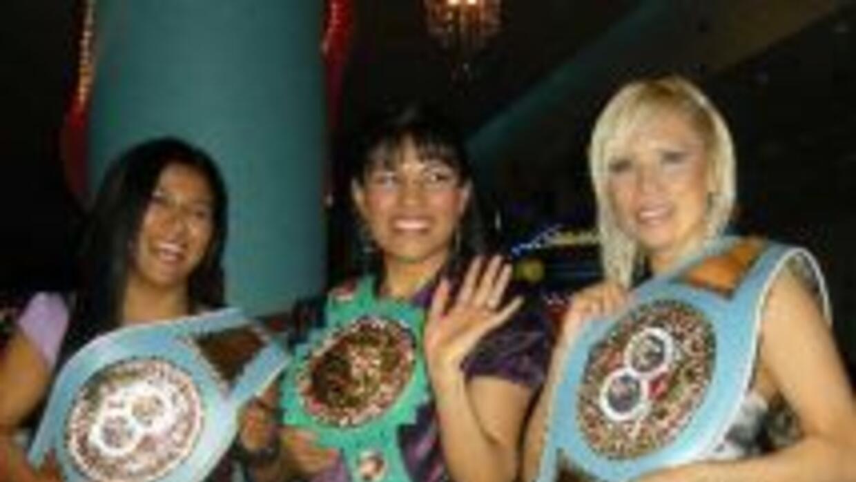 Arely Muciño, Ana María Torres e Irma Sánchez son parte de HG Boxing (Fo...