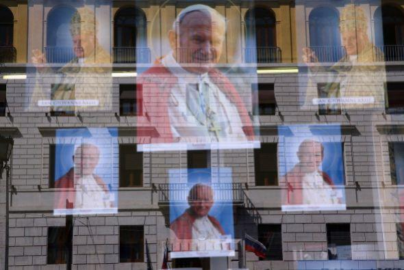 El resto tendrá que asistir en los sitios aledaños a la canonización.