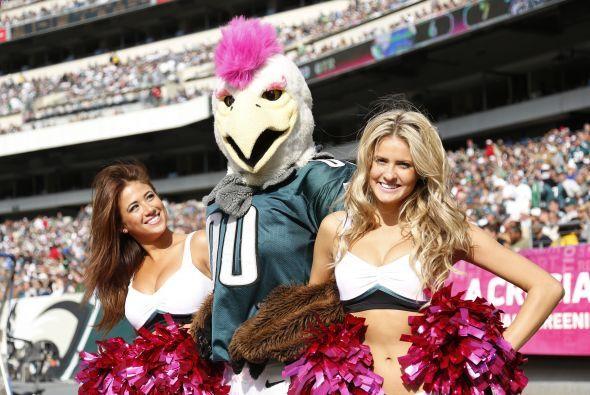 ¿Quieres conocer a lo más bello de los Eagles? Sólo dale una miradita a...