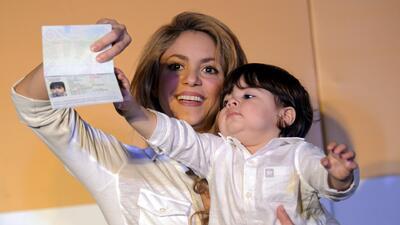 Milan Piqué, el hijo de Shakira, ya tiene pasaporte Colombiano
