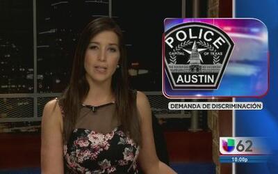 Oficiales demandan por discriminación a la Policía de Austin