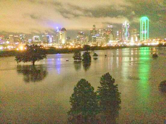 Inundaciones en Dallas
