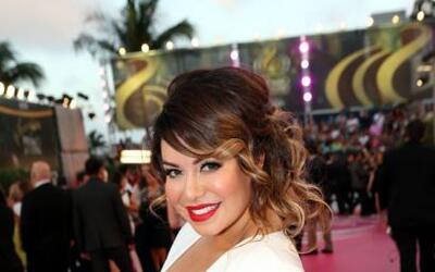 El año pasado Chiquis Rivera debutó en la alfombra roja de Premio Lo Nue...