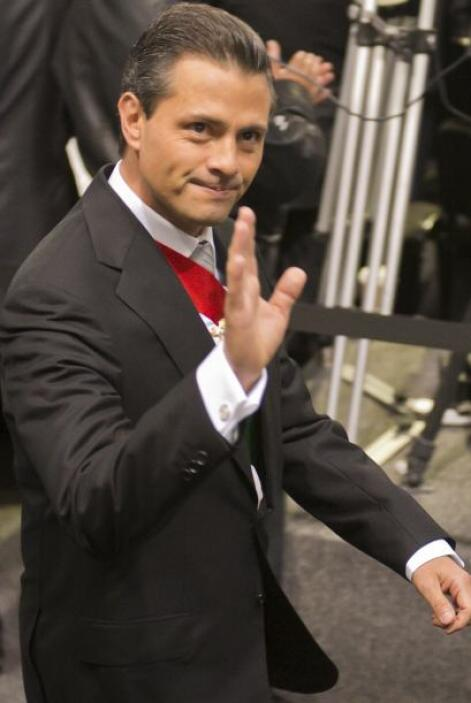 Éste será el primero para Enrique Peña Nieto.