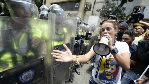 Denuncian que hasta el hijo del preso político venezolano Leopoldo López...