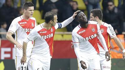 Tiemoue Bakayoko marcó el gol del Mónaco