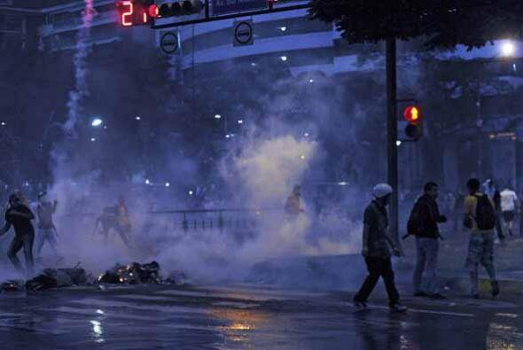 El gobierno de Maduro condenó las protestas y una vez más...