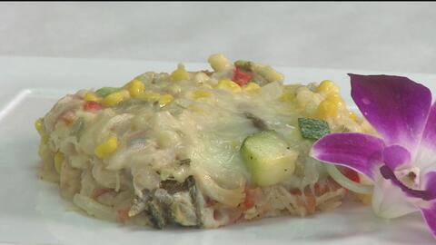 Una probadita: prepare un delicioso pastel azteca
