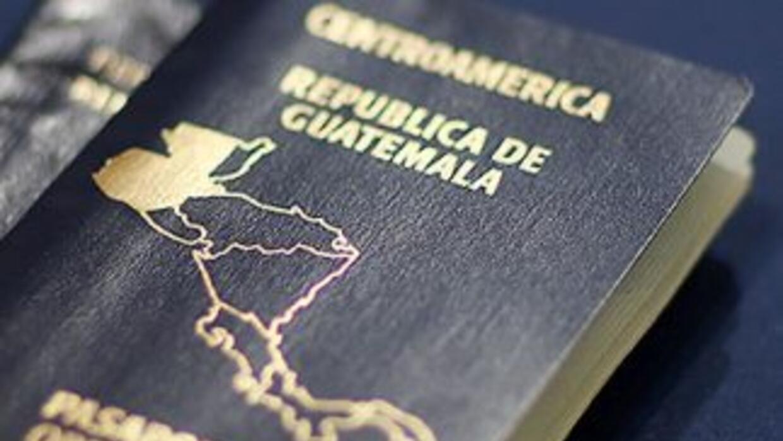 Pasaporte guatemalteco.