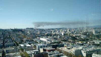 Se incendia edificio en Richmond