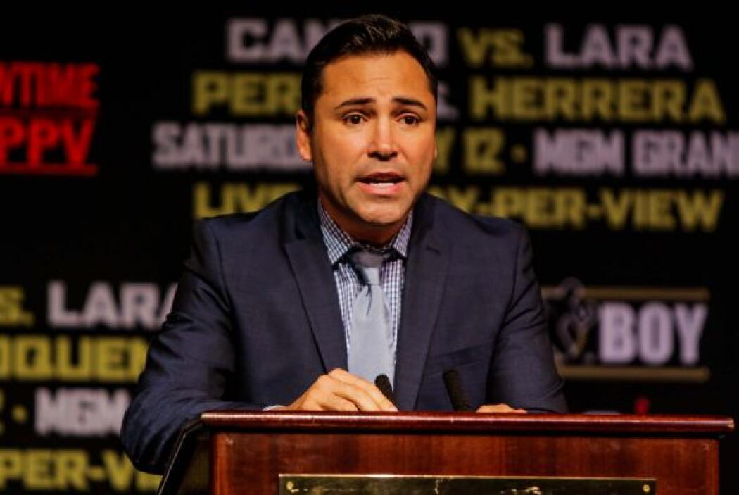 Oscar De la Hoya dijo que esta función será inolvidable (Foto: José Colón)