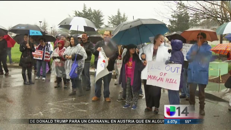 Protestas contra redadas de ICE