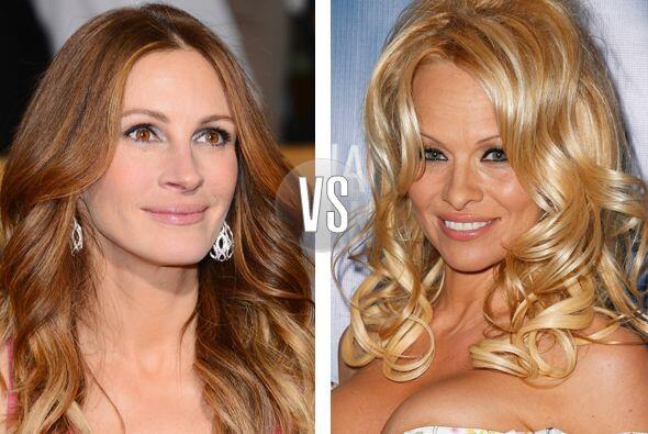 Julia Roberts y Pamela Anderson ya no son tan jovencitas, tienen 46 a&nt...