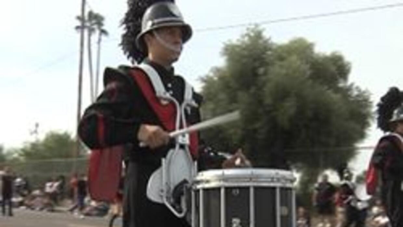 Parada de veteranos en Phoenix