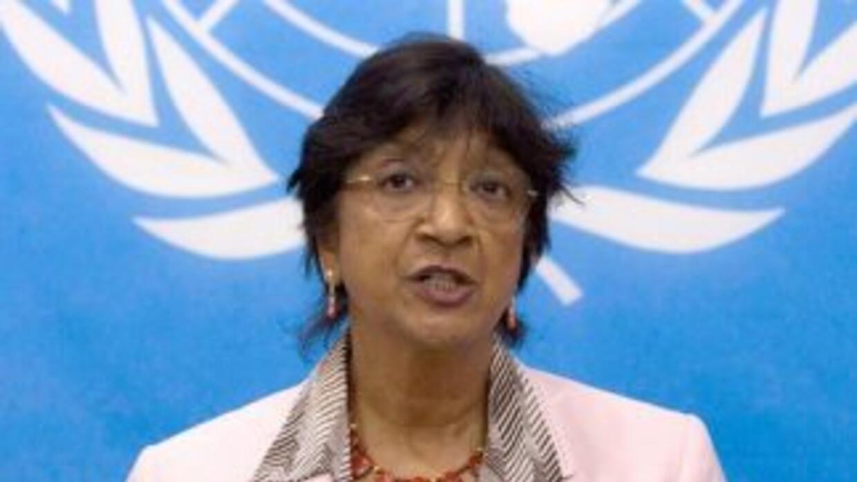 La Alta Comisionada Navi Pillay pidió atención a las señales que dan las...