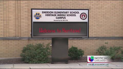 Maestra castiga a alumnos por hablar español