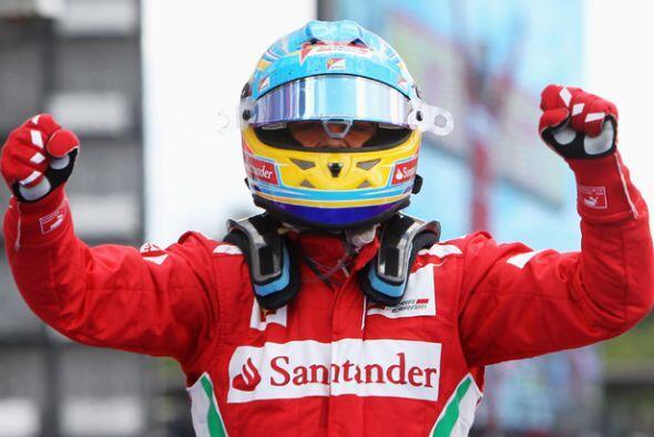 La estrella de Ferrari atraviesa por una excelente racha.