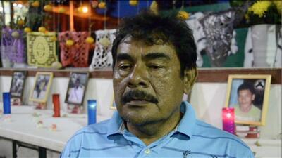 Felipe De la Cruz: mi hijo dice estar muerto desde la desaparición de su...