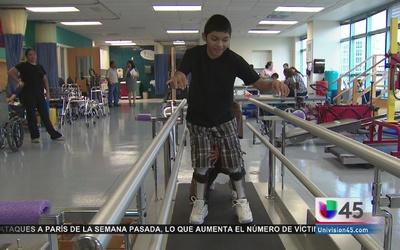 Hospital brinda esperanza a discapacitados