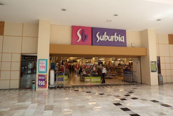 15. SUBURBIA. Esta línea de tiendas departamentales mexicana est&...