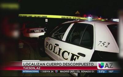Muerte sospechosa en Tucson