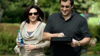 Dave Goldberg y Sheryl Sandberg.