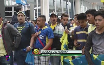 Los afcionados de América quedaron plantados en Monterrey