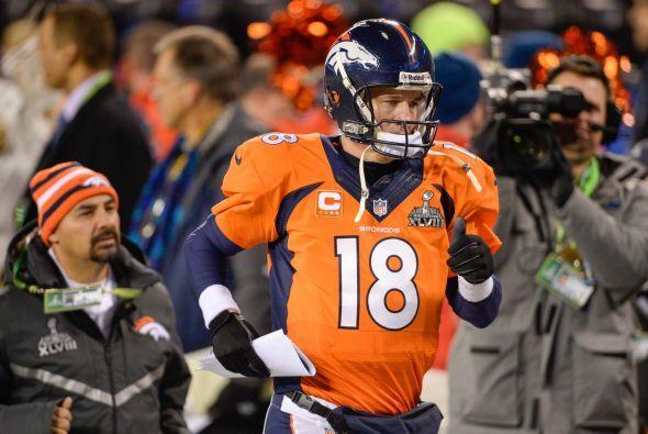 N°3 El de Peyton Manning, QB de los Denver Broncos (AP-NFL).