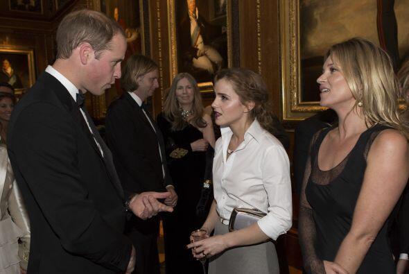 William charló con varios famosos, como Emma Watson. Mira aquí lo último...