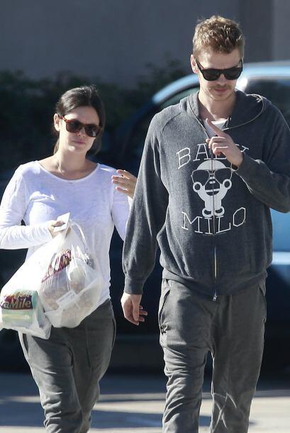 Rachel y Hayden hicieron unas cuantas compras en el camino.