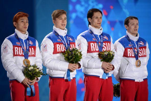 Tras dos semanas de intensa competencia, el anfitrión Rusia se ll...