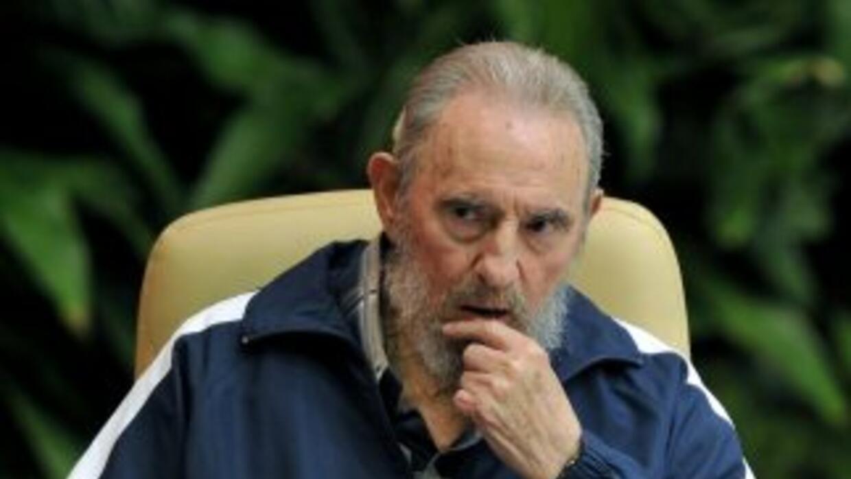 Fidel Castro criticó la forma como los países tratan a las personas que...