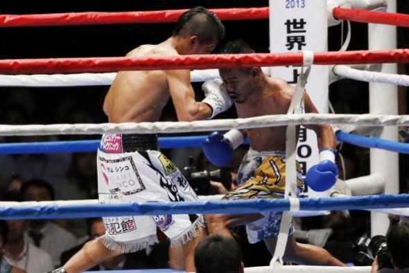 Llevó a Apolinaro a su estilo de boxeo para plantear su contienda a un c...