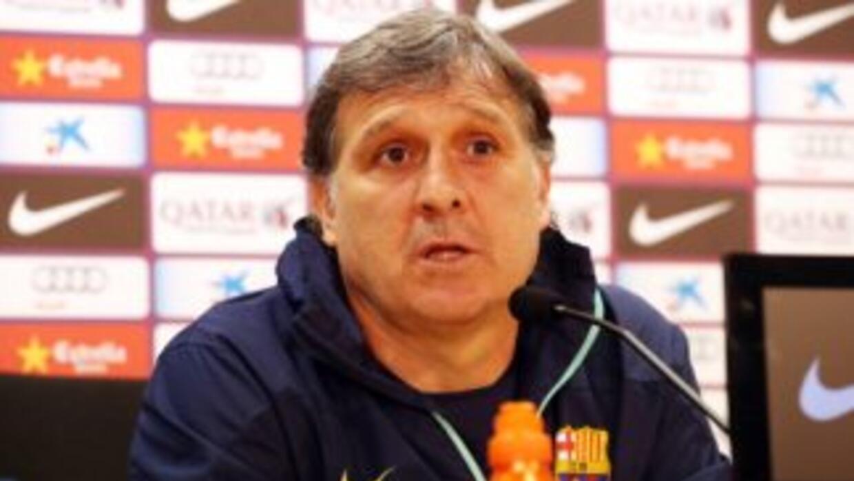 Martino admitió que ha quedado a deber en el Barcelona.